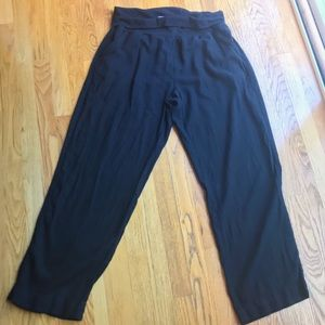 Sonoma fold waist linen blend pants xxl